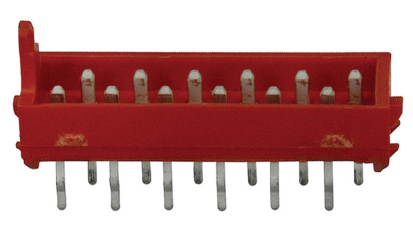 Köp Straight Pin Header 12 Contacts, 1.27mm Pitch