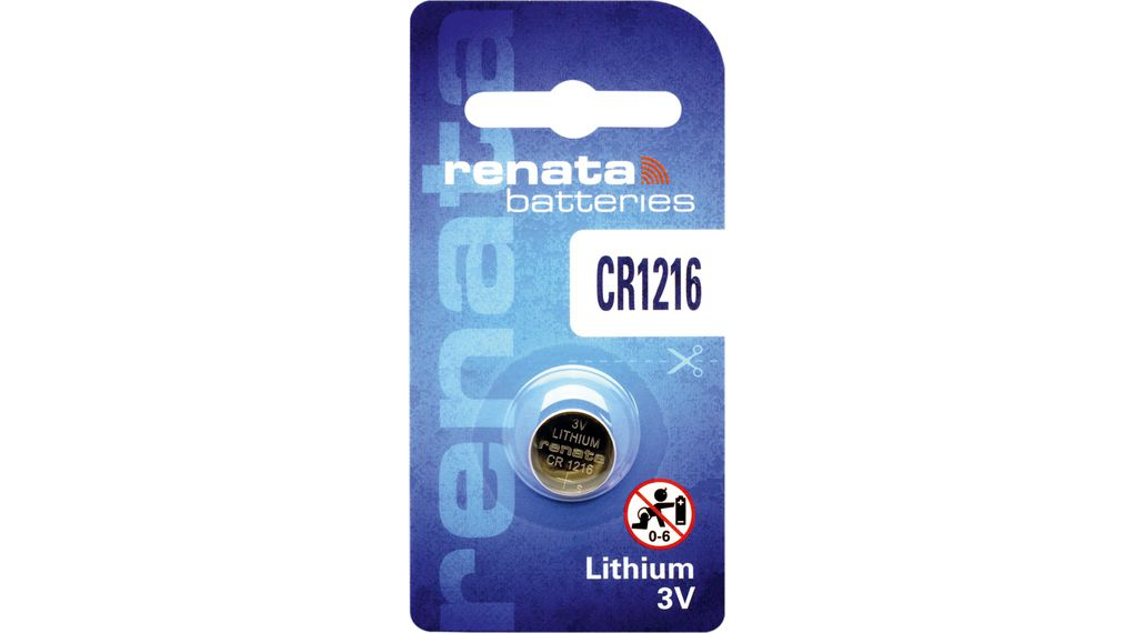 Buy Button cell battery,  Lithium, 3 V, 30 mAh