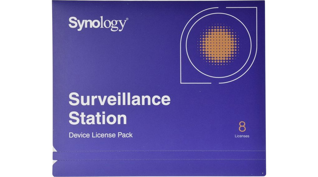Licence for 8 additional IP cameras