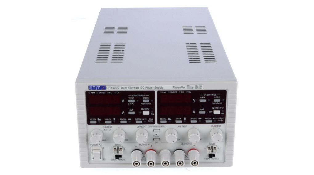 Buy Laboratory Power Supply 2 Ch. 0...60 VDC 20 A / 0...60 VDC 20 A