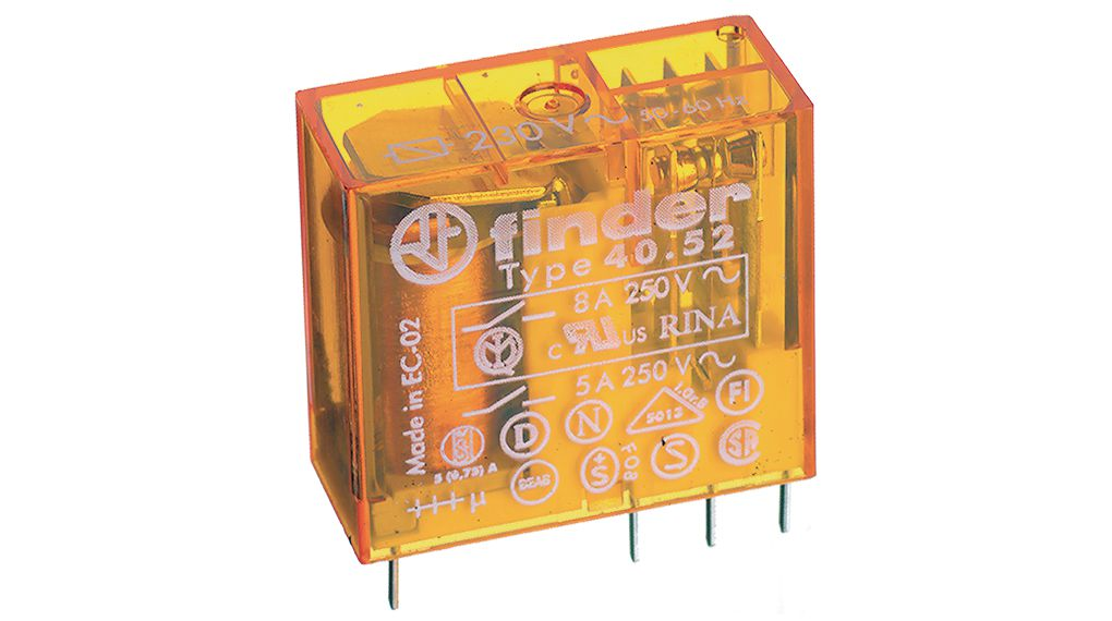 Buy PCB power relay 24 VDC 650 mW