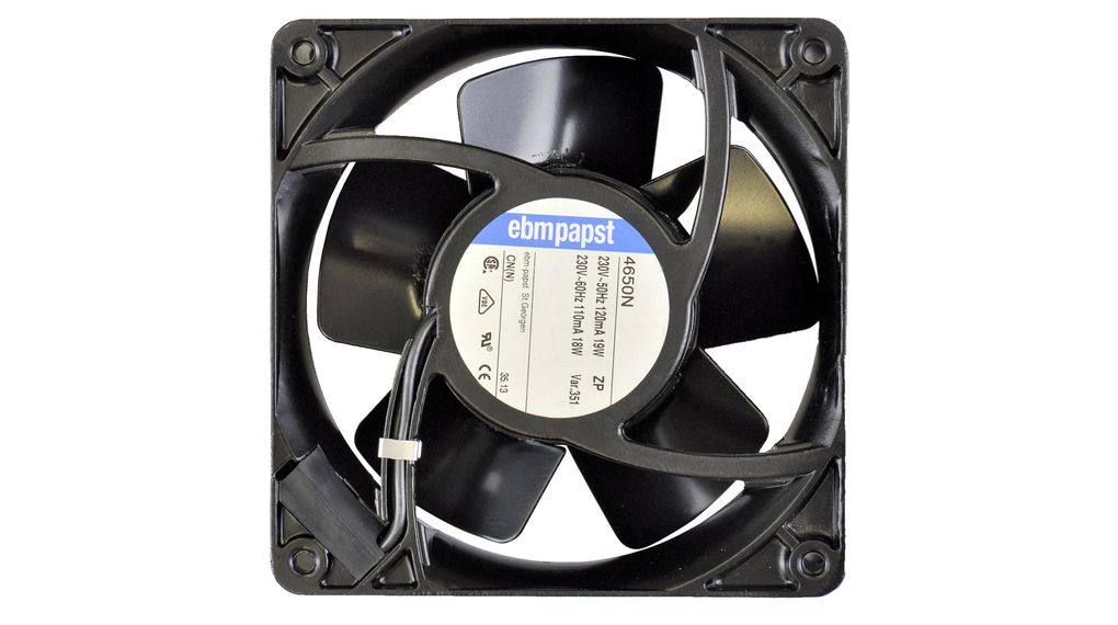 Köp Axial Fan AC 119x119x38mm 230V 160m³/h IP20