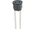 Buy Lamp holder Bi-Pin 2.54 Soldering Pins