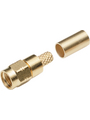SMA cable connector, straight HFX-1336 50 Ohm, 18 GHz, Male, SMA Buy {0}